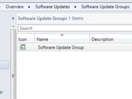 Software Update Group in SCCM